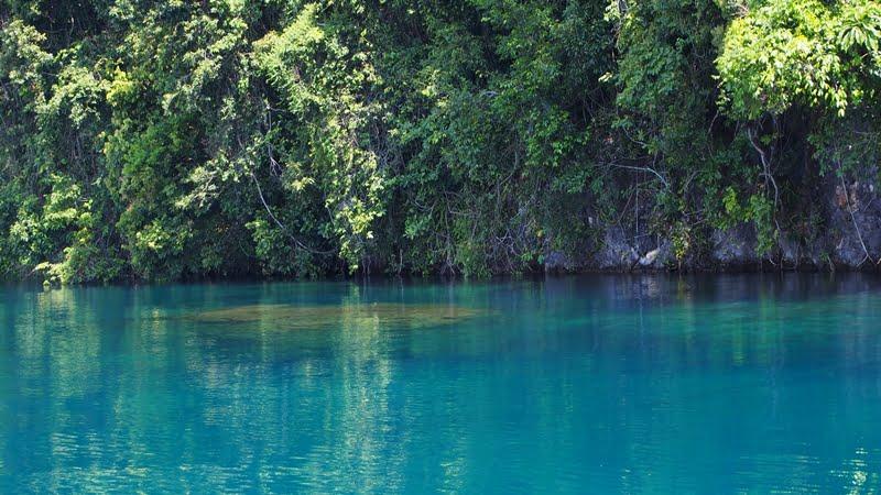 Jernihnya air Danau Matano