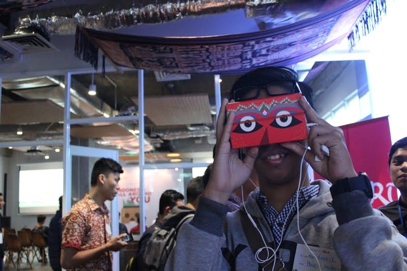"GDG Jakarta x TelusuRI ""Indonesia All Around You"": Berkolaborasi untuk Menelusuri Pesona Indonesia lewat ""Virtual Reality"""