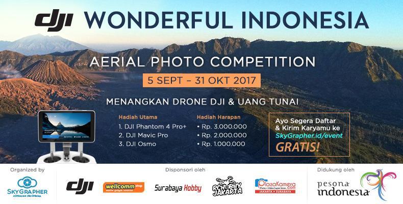 Kompetisi pilot drone dji skygrapher