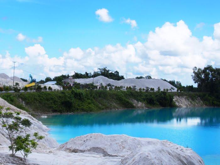 Danau Kaolin, Danau Surealis Bekas Galian Tambang