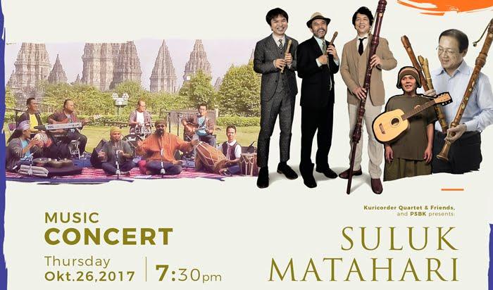 """""""Suluk Matahari,"""" Dialog Musik Jepang dan Indonesia"""