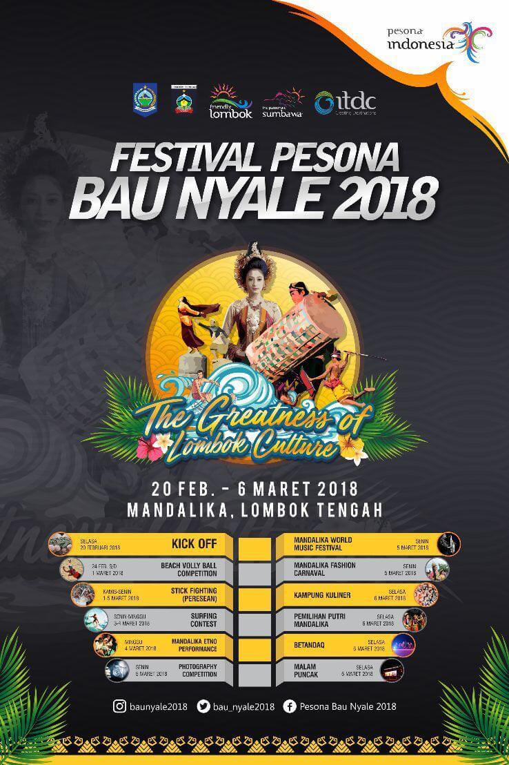 festival pesona bau nyale