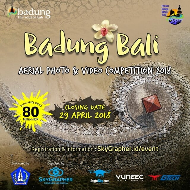Badung Bali Aerial Photo & Video Competition 2018