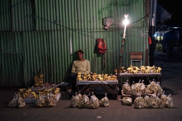 Pasar Pisang Kebayoran Lama, Gerbang Masuk Pisang ke Jakarta