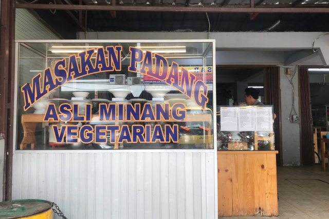 warung nasi padang vegetarian