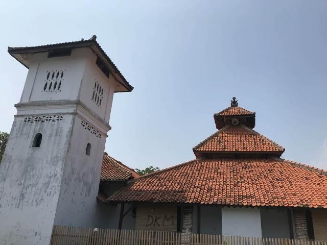 masjid tertua di banten