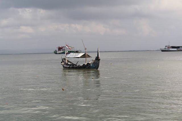 sampan ke pulau talango