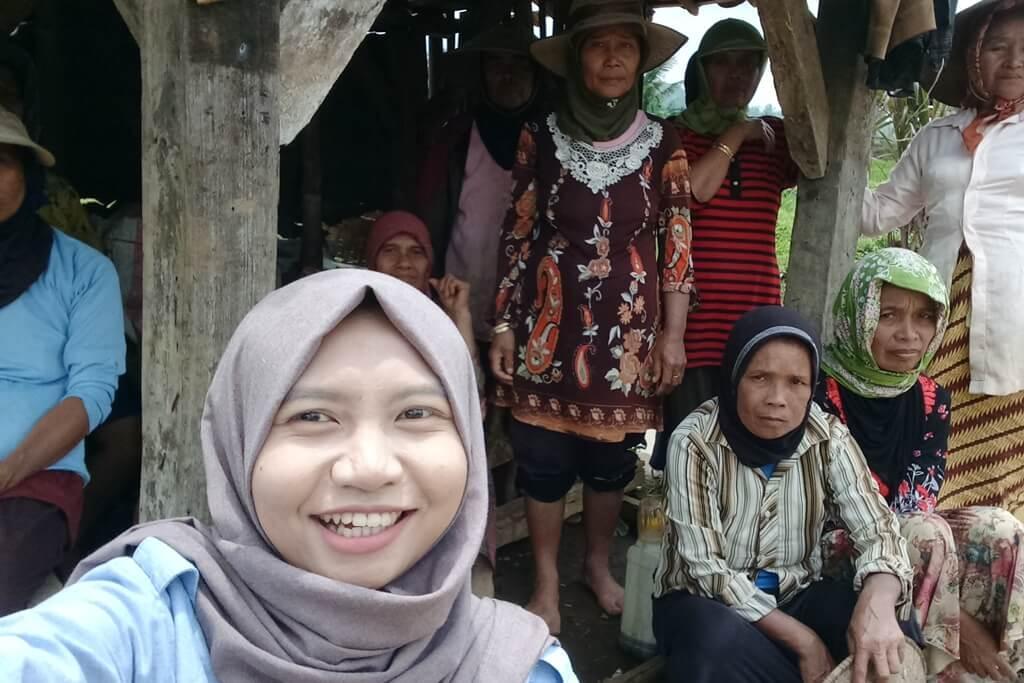 Hanifati Radhia dan Pengalamannya Menjadi Pendamping Desa