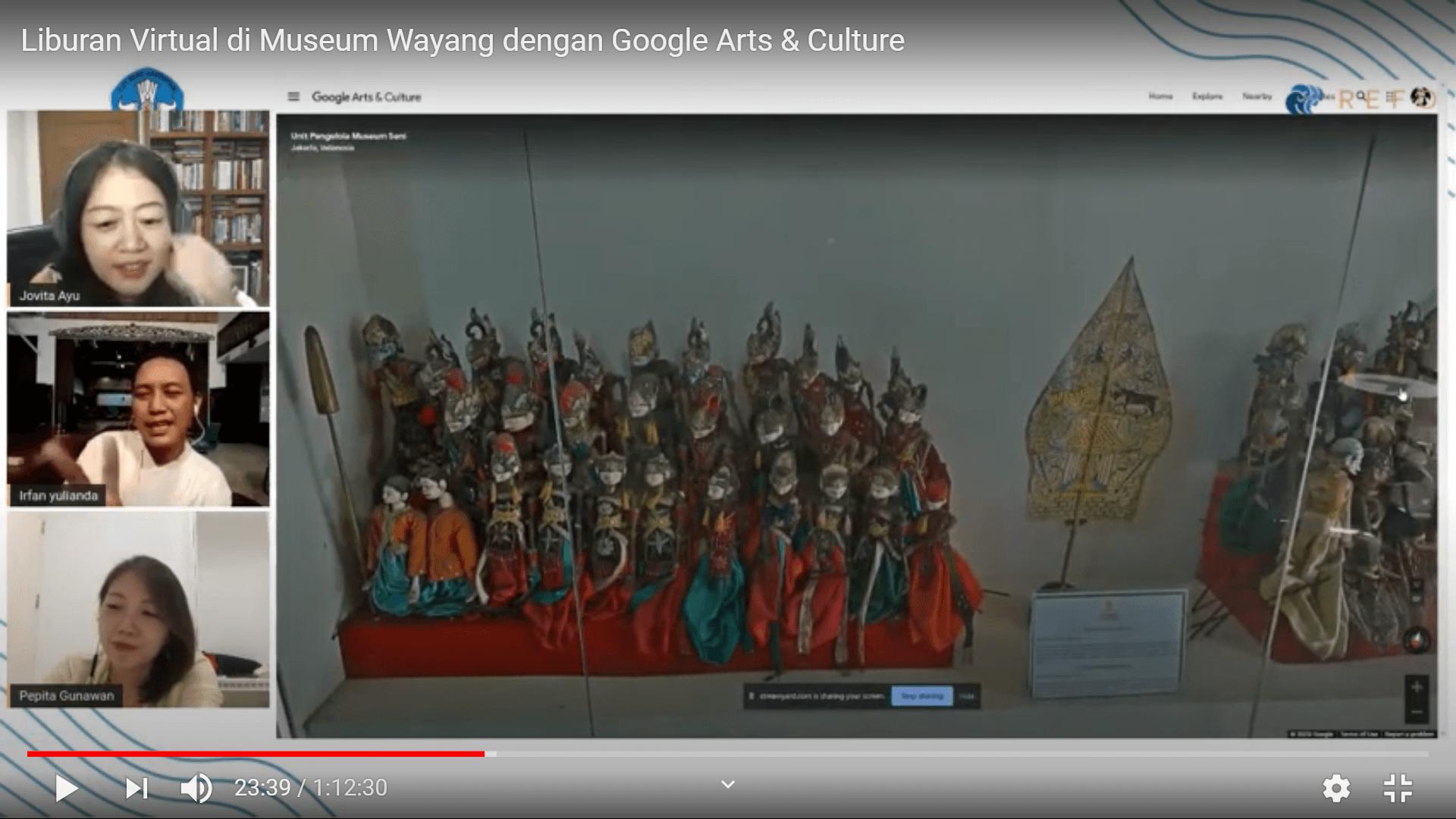 Menelusuri Museum Wayang secara Virtual