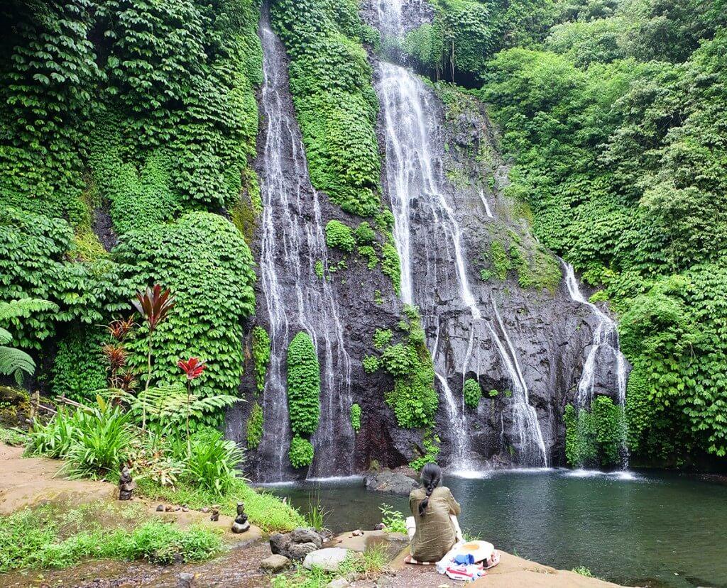 Singgah ke Air Terjun Banyumala, Wanagiri