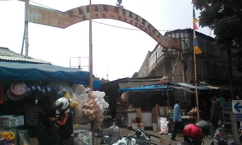 Satu Jam Keliling Pasar Sukahaji Bandung
