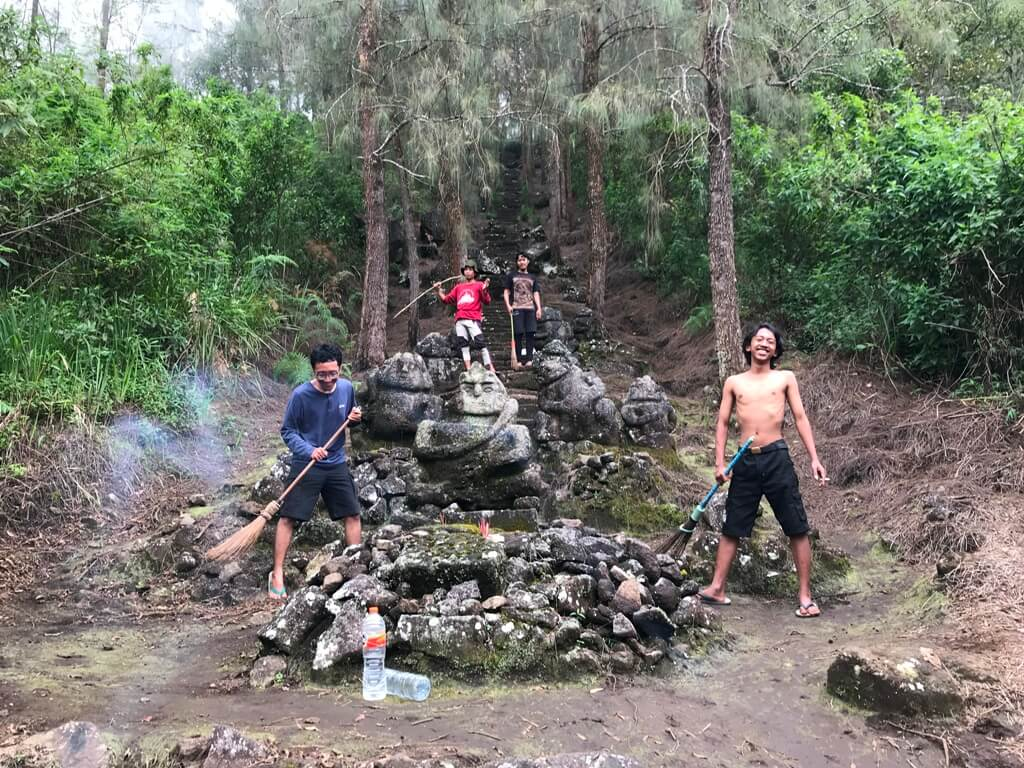 Bersih Gunung di Makutoromo, Arjuno