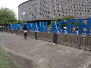 Pelawatan Singkat ke Museum Tsunami Aceh