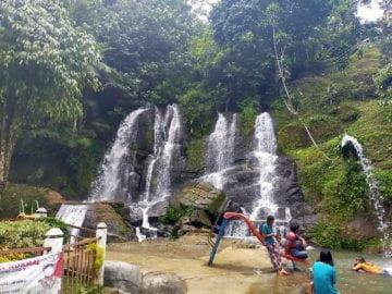 Wisata Bah di Bah-Biak, Sumatera Utara