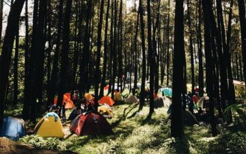 Liburan Indie di Kakek Bodo Campground, Pasuruan