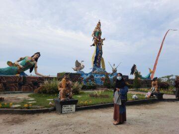 Suasana Bali di Pantai Bali Lestari, Serdang Bedagai